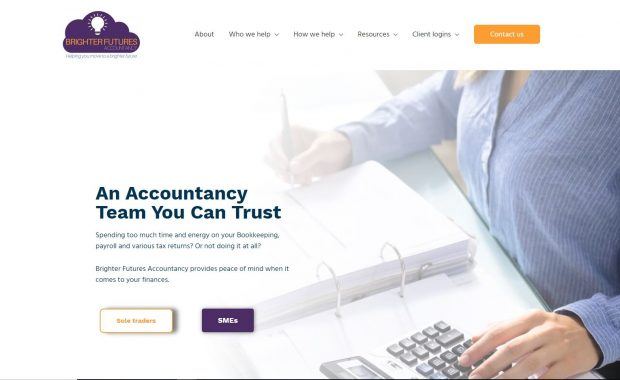 Accountancy firm website Jessica-thomas.com